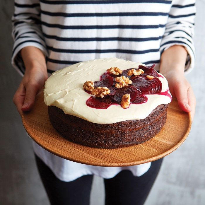 Chocolate, Walnut & Beetroot Cake