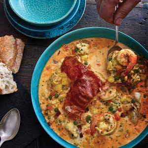 President Kennedy's Fish Chowder