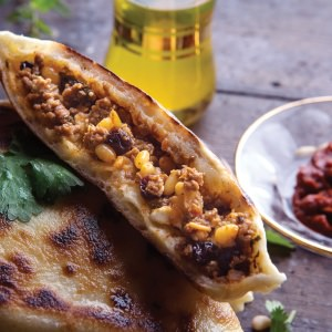 Moroccan Beef Flatbreads