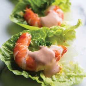 Mini Prawn Cocktail Canapes