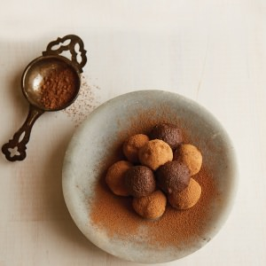 Dairy-Free Chocolate Coffee Truffles
