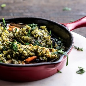 Mussels with Basil, Almonds & Butter