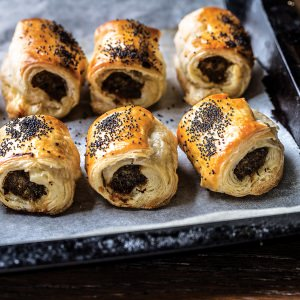 Peppery Sausage Rolls