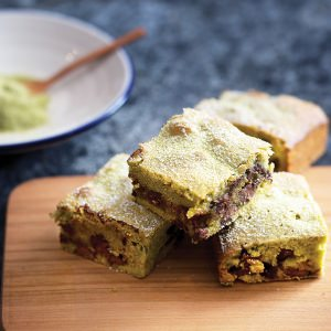 Milk Chocolate & Matcha Blondie