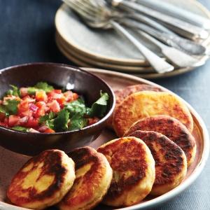Potato & cheese patties