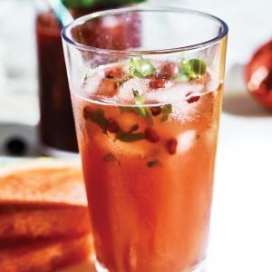 Watermelon & Basil Mojito