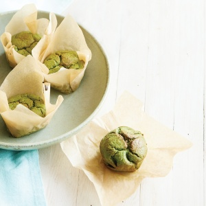 Banana & Spinach Muffins
