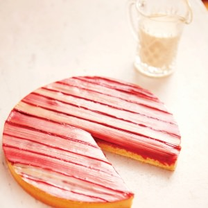 Conticini's Spectacular Rhubarb Tart